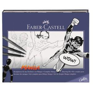 Lär dig rita mangateckningar och serier med Faber-Castell Manga set
