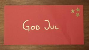 Röda kuvert från Artoz.